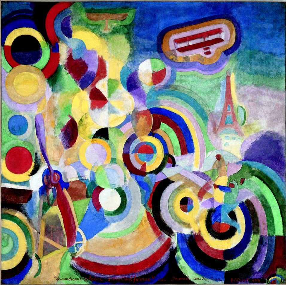 罗伯特 德劳内Robert Delaunay(法国1885-1941)作品集1 - 刘懿工作室 - 刘懿工作室 YI LIU STUDIO
