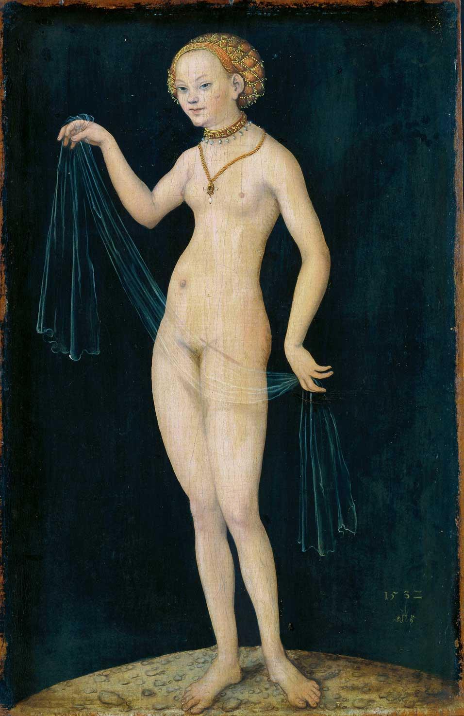 \x26quot;Venus\x26quot; By Lucas Cranach the Elder ...
