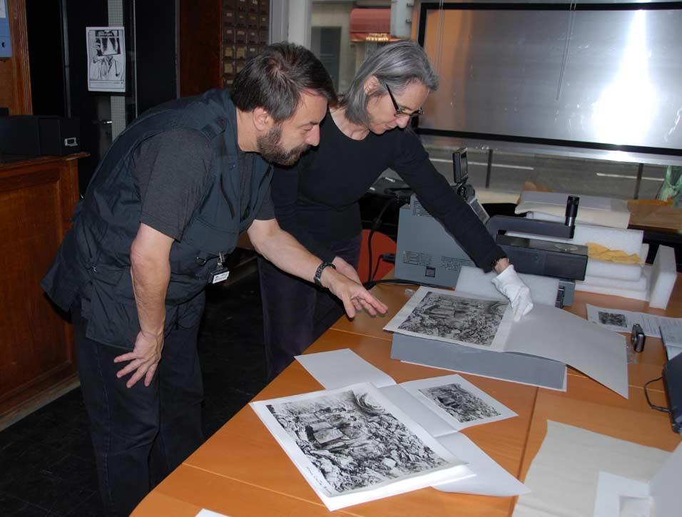 Dusan Stulik és Anne Cartier-Bresson