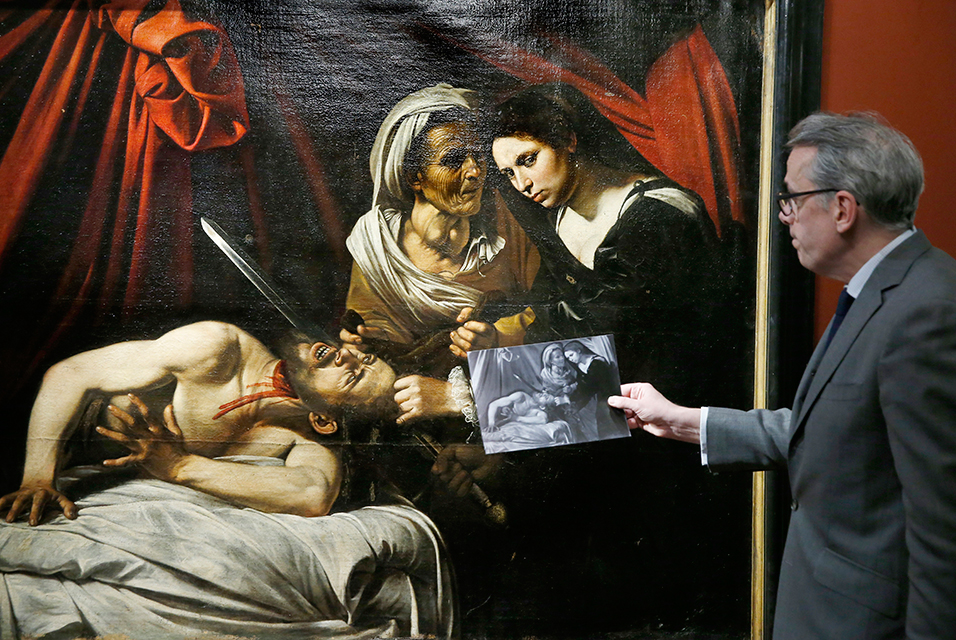 Painting found in French attic is $178 million Caravaggio, art experts say - @artdaily.org #caravaggio #nationalgallery #louvre Artes & contextos cara 2