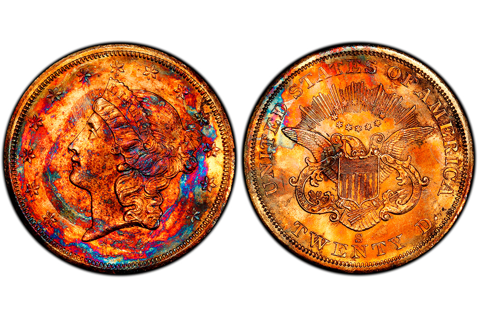 """Most beautifully toned gold coin ever seen"" was purchased for $282,000"