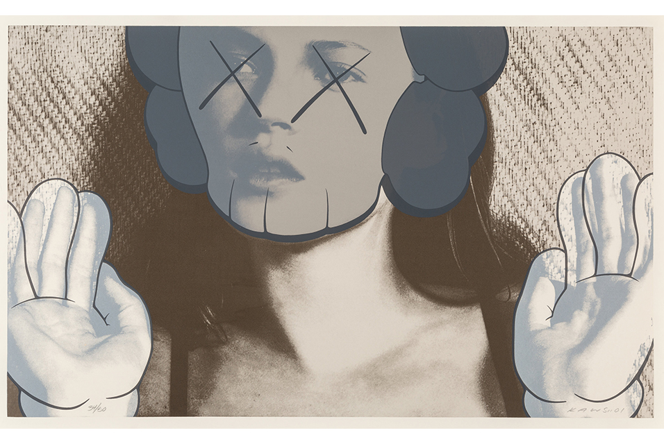 KAWS Kate Moss, White Gloves, 2001: $51,250 – record for this print at auction.