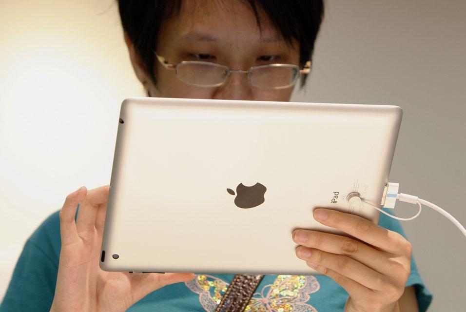 1336741e12 iPad Launch in Beijing Quiet